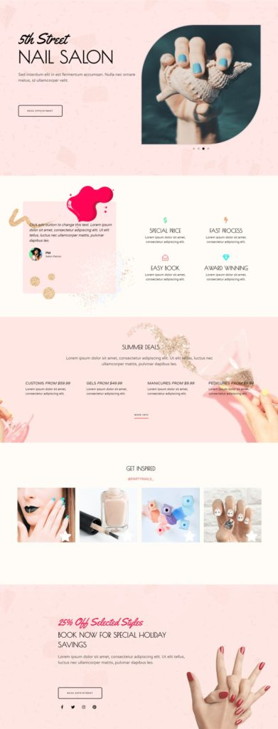 homepage-nail salon