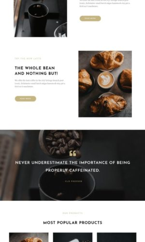 homepage-coffee shop